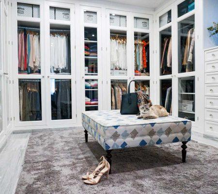 tapiz decoración tienda de ropa