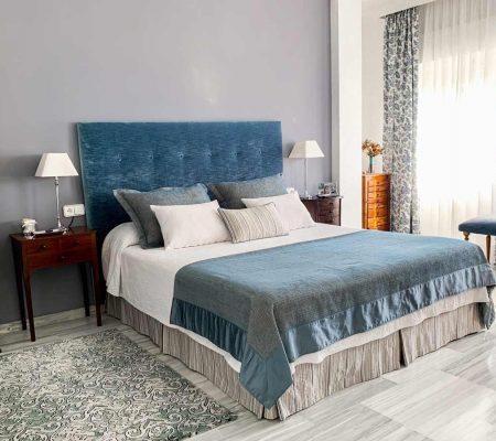 ropa de cama tonos turquesas y azules